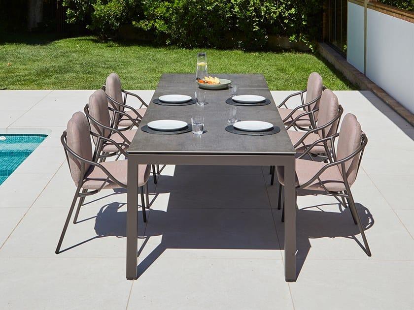 Extending garden table SALVIA | Extending table by MUSOLA