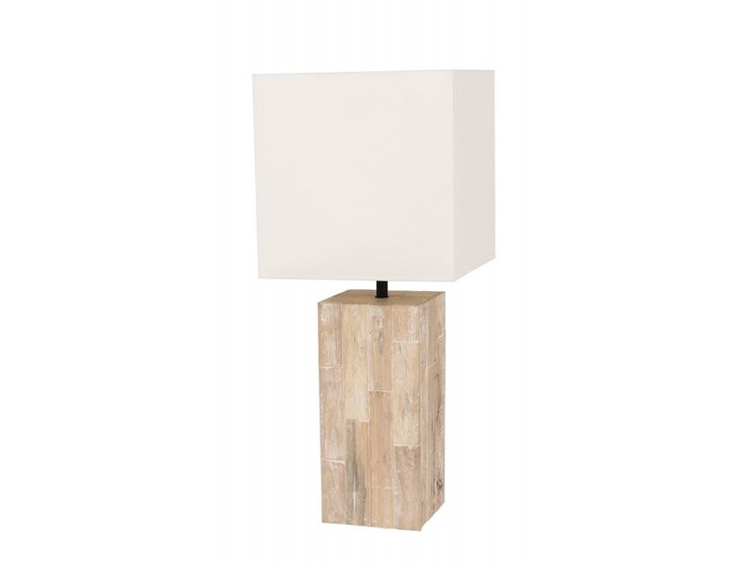 Wooden table lamp SAMIA by Flam & Luce