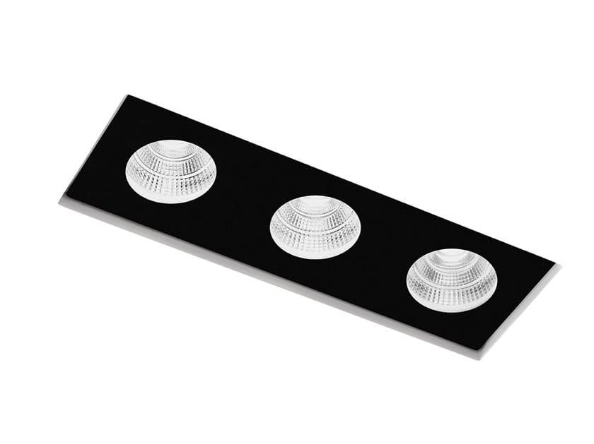 Faretto a LED in gesso per controsoffitti SAMO T306 by Sforzin