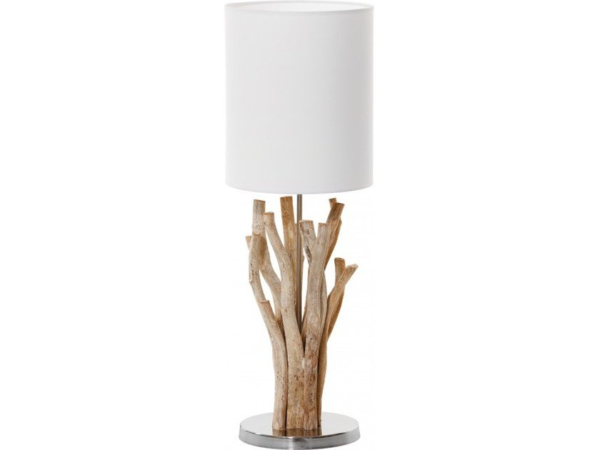 Wooden table lamp SAMOA by Flam & Luce