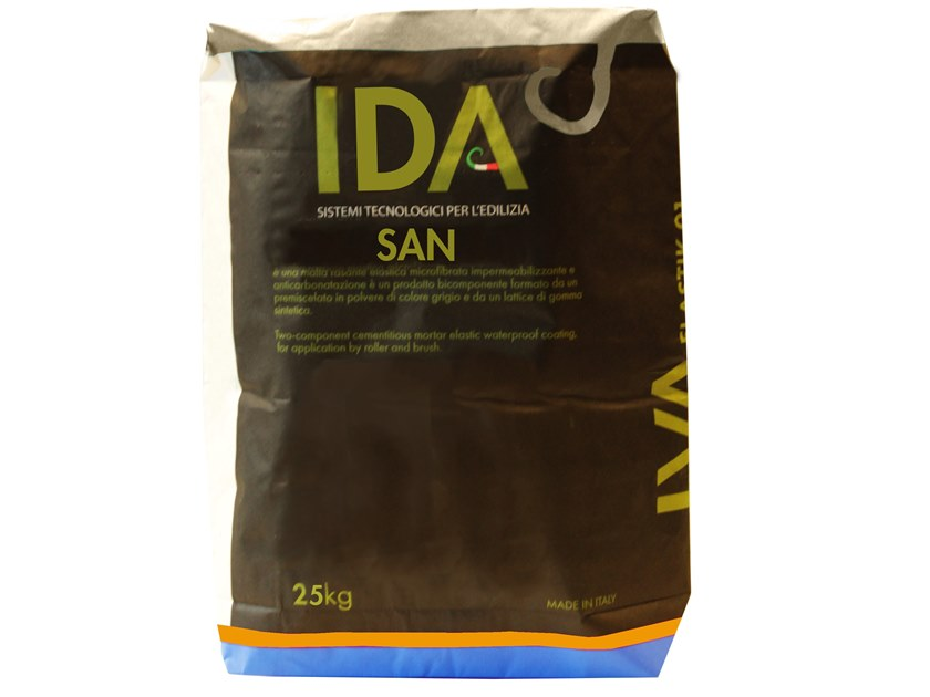 Renovating and de-humidifying additive and plaster SAN by IDA