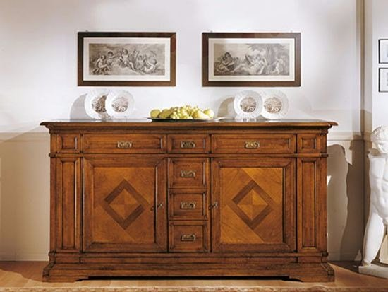 Solid wood sideboard with drawers SAN MARCO | Sideboard by Arvestyle