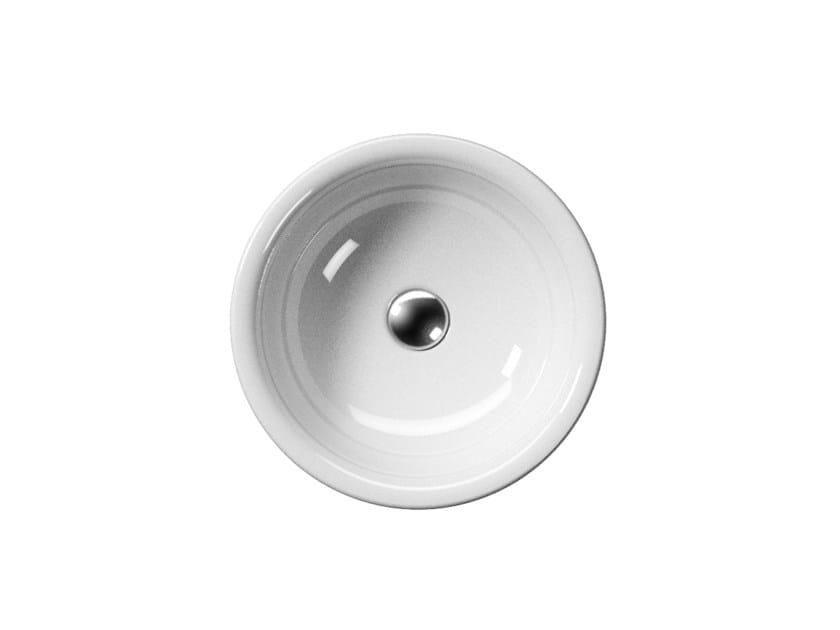 Countertop ceramic washbasin SAND 42/T   Washbasin by GSI ceramica
