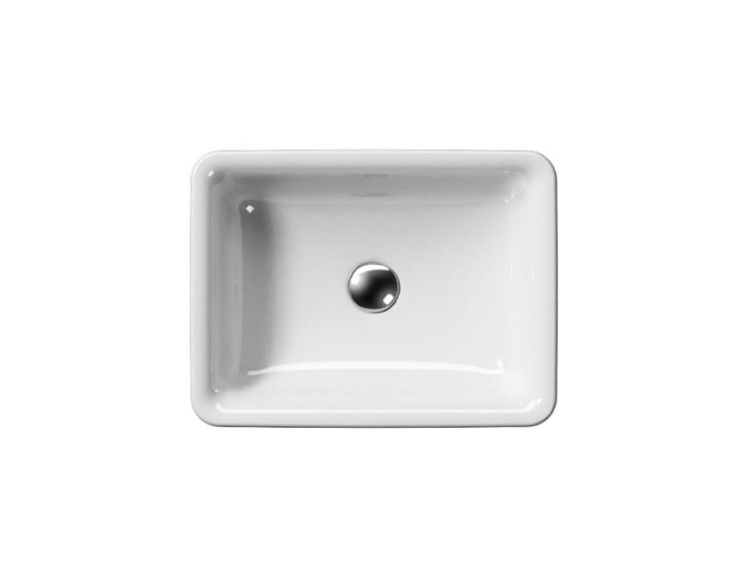 Countertop ceramic washbasin SAND 50/T   Washbasin by GSI ceramica