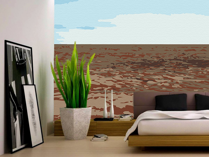 Panoramic landscape wallpaper SAND by Mat&Mat