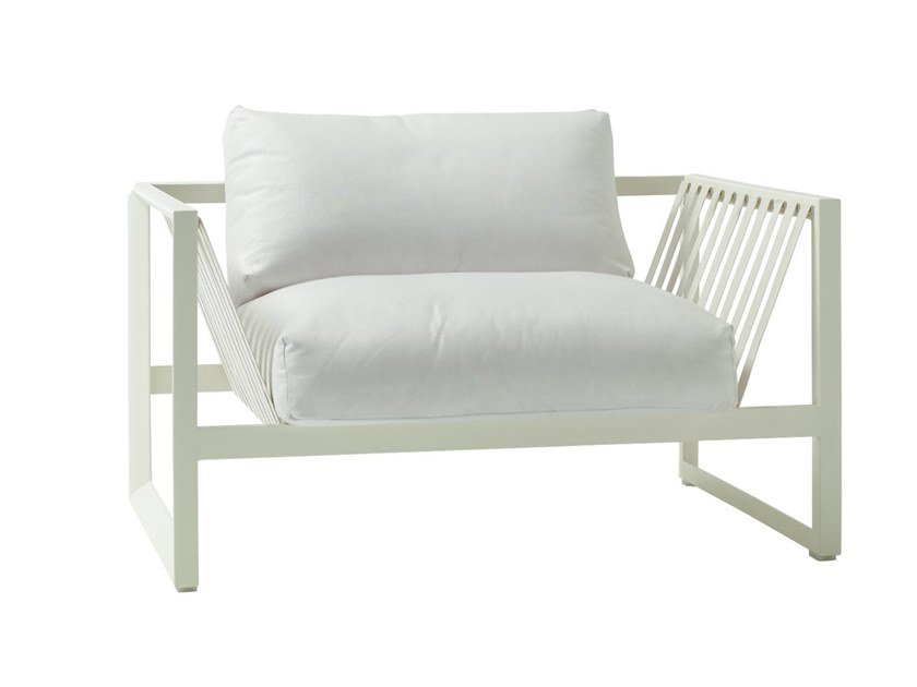 Garden armchair with armrests SAND SF4326 by Andreu World