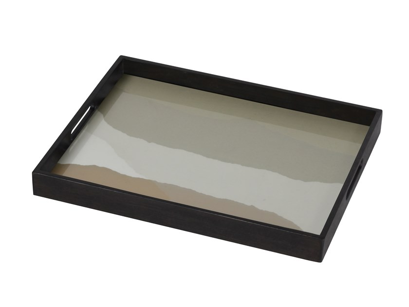 Rectangular glass tray SAND WABI SABI | Rectangular tray by Notre Monde
