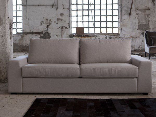 3 seater sofa with removable cover SANDER | 3 seater sofa by Domingo Salotti