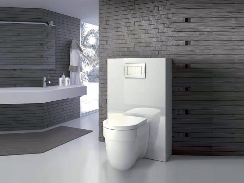 Aluminium sanitary module SANIDESIGN Slim by Sanitrit
