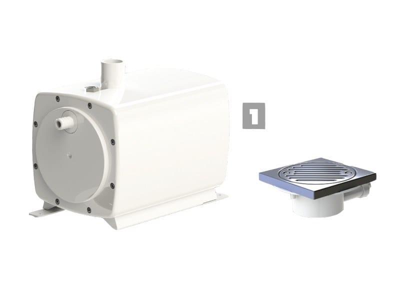 Wastewater pump / pop up plug SANIFLOOR+ by Sanitrit