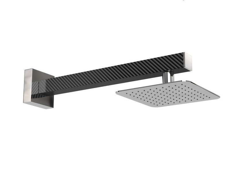 Wall-mounted stainless steel outdoor shower SANREMO Q by Inoxstyle