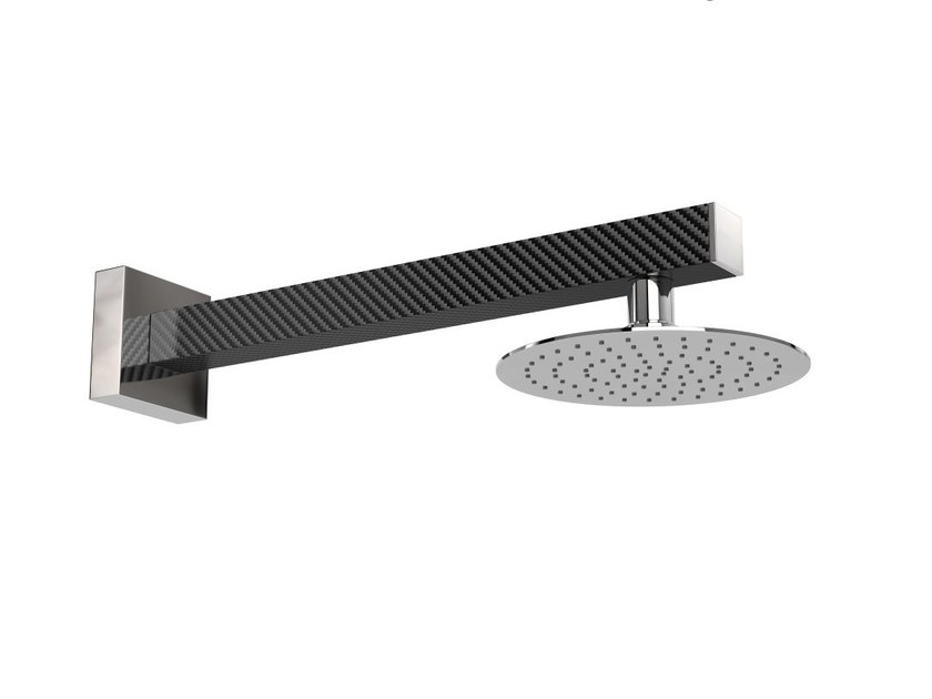 Wall-mounted stainless steel outdoor shower SANREMO R by Inoxstyle