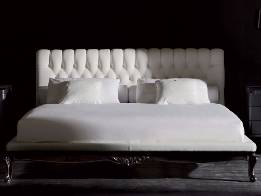 Double bed with tufted headboard SANSONE CLASSIC | Bed by OPERA CONTEMPORARY