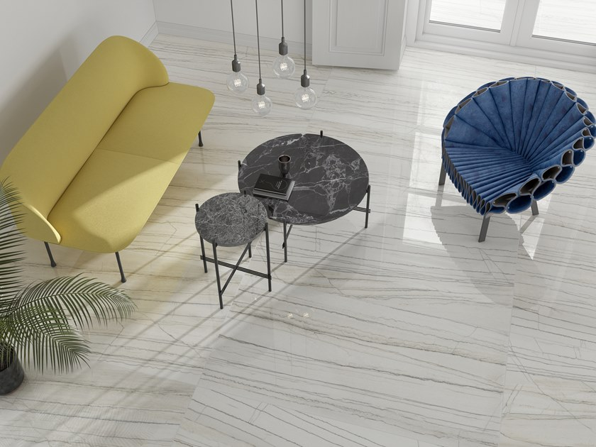 Flooring with marble effect SANTANA by Museum