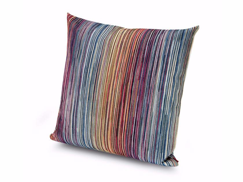 Square velvet cushion SANTIAGO | Square cushion by MissoniHome