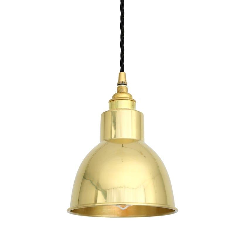 Direct light handmade brass pendant lamp SANTIAGO | Pendant lamp by Mullan Lighting