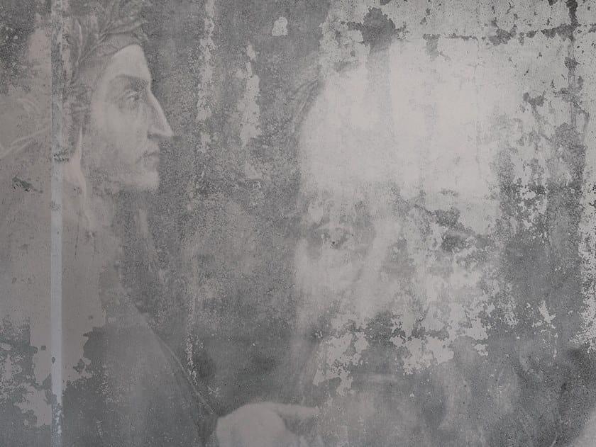 Fire retardant Digital printing wallpaper SAPIENZA by NANNI GIANCARLO & C.