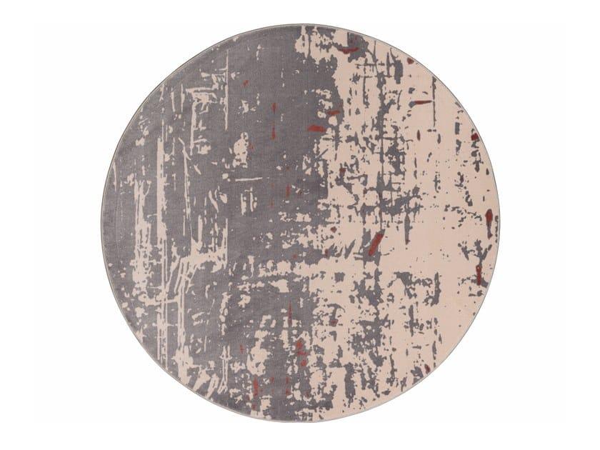 Tappeto rotondo Jacquard stampato a tessitura SAPORE DI VANIGLIA NEW | Tappeto rotondo by MEMEDESIGN