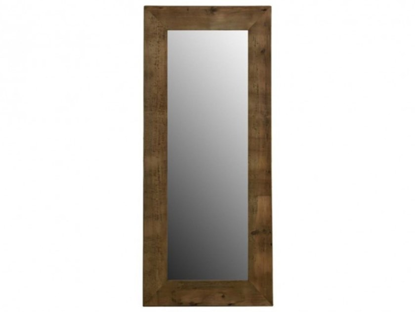 Specchio rettangolare da terra con cornice in pino SAPPHIRE by Arrediorg.it®