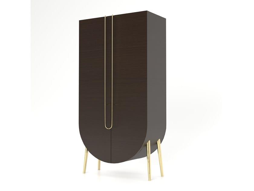 Wooden highboard SAQRIS | Wooden highboard by Green Apple