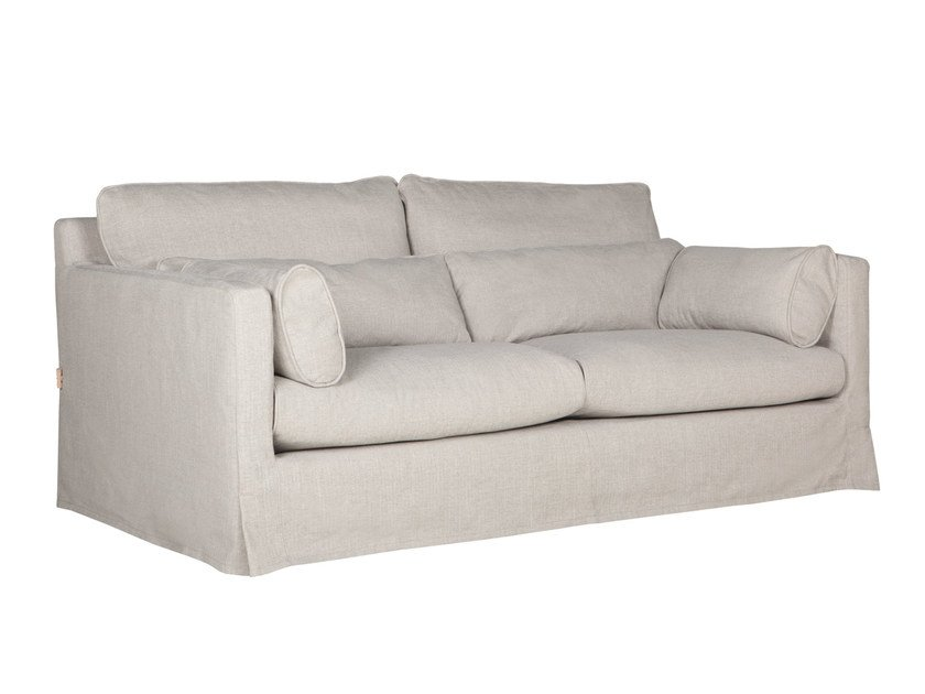 Upholstered 2 seater fabric sofa SARA | 2 seater sofa by SITS