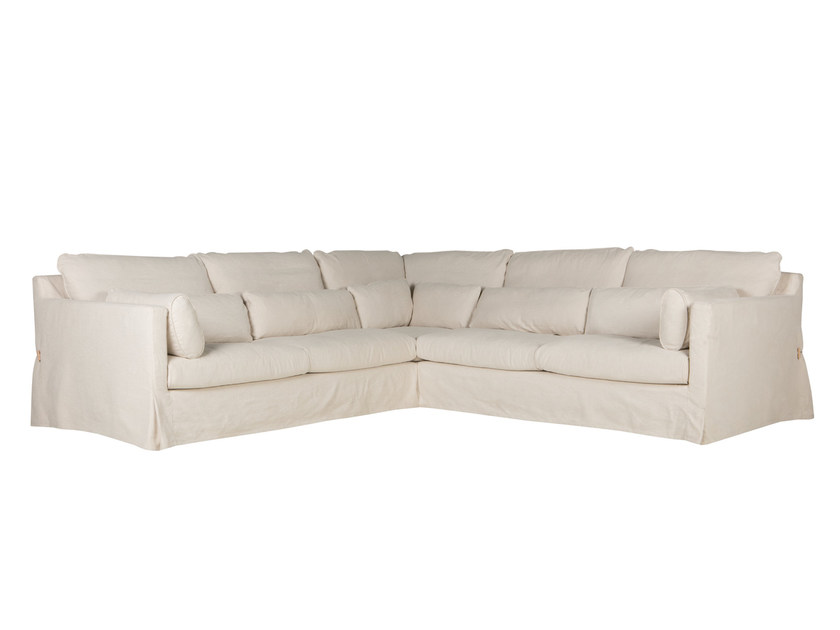 Corner sectional 4 seater fabric sofa SARA   4 seater sofa by SITS