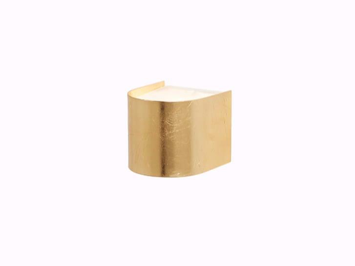 Sara applique foglia oro collezione neoclassico by gibas