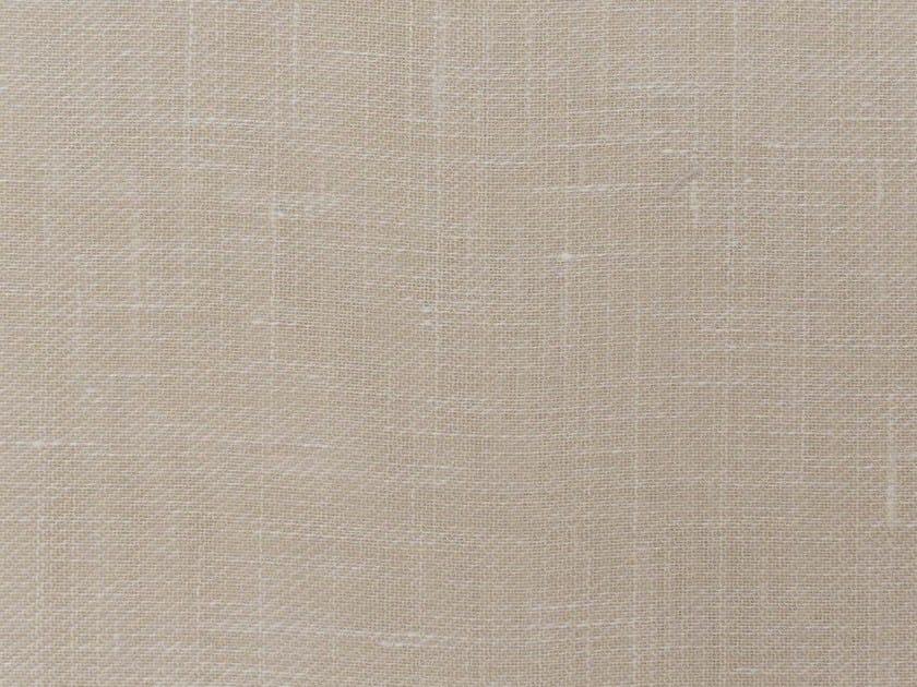 Tessuto a tinta unita in lino SARGAFINA by Gancedo