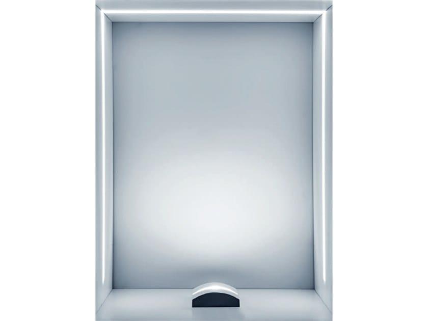 Proiettore per esterno a led in alluminio pressofuso sash by rossini