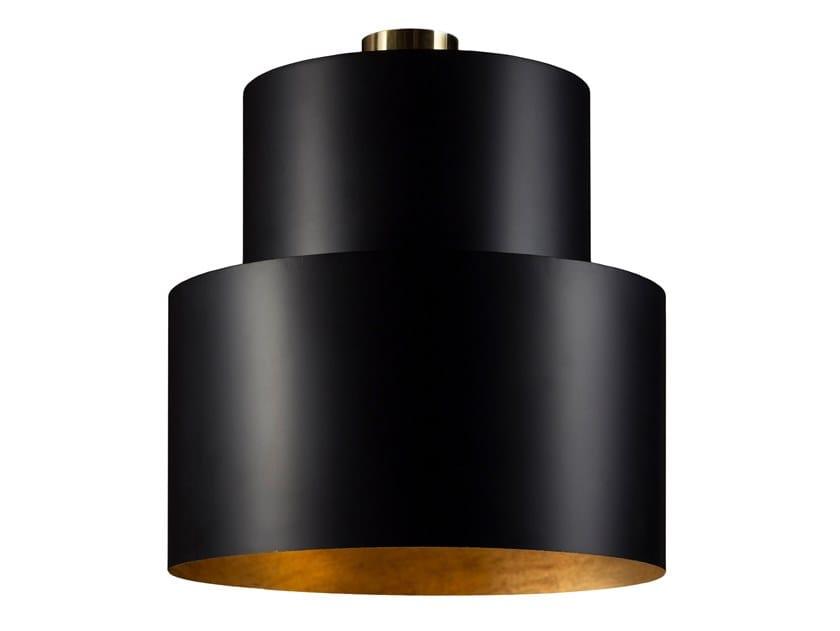 Lampada a sospensione / lampada da soffitto in ottone SATELLITE 05 by Il Bronzetto