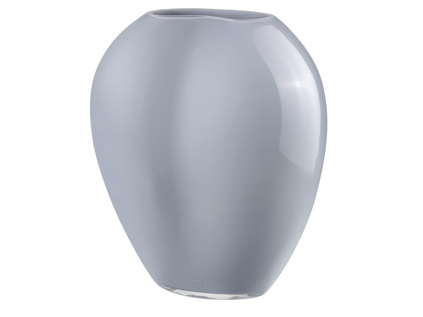 Crystal vase SATIN LARGE by NUDE