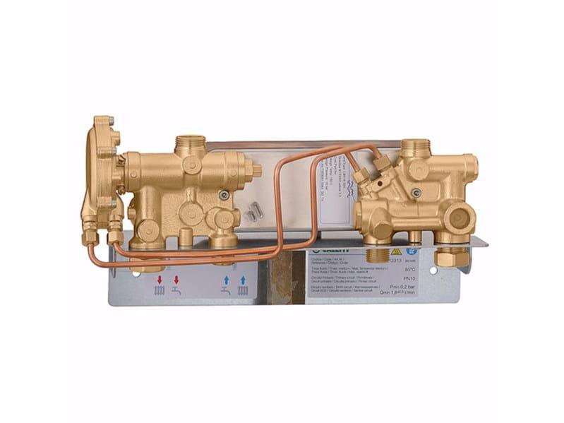 Heat interface unit mechanical version SATK12 by CALEFFI
