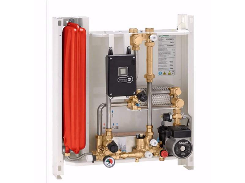 Wall-mounted indirect heat interface unit SATK30103 by CALEFFI