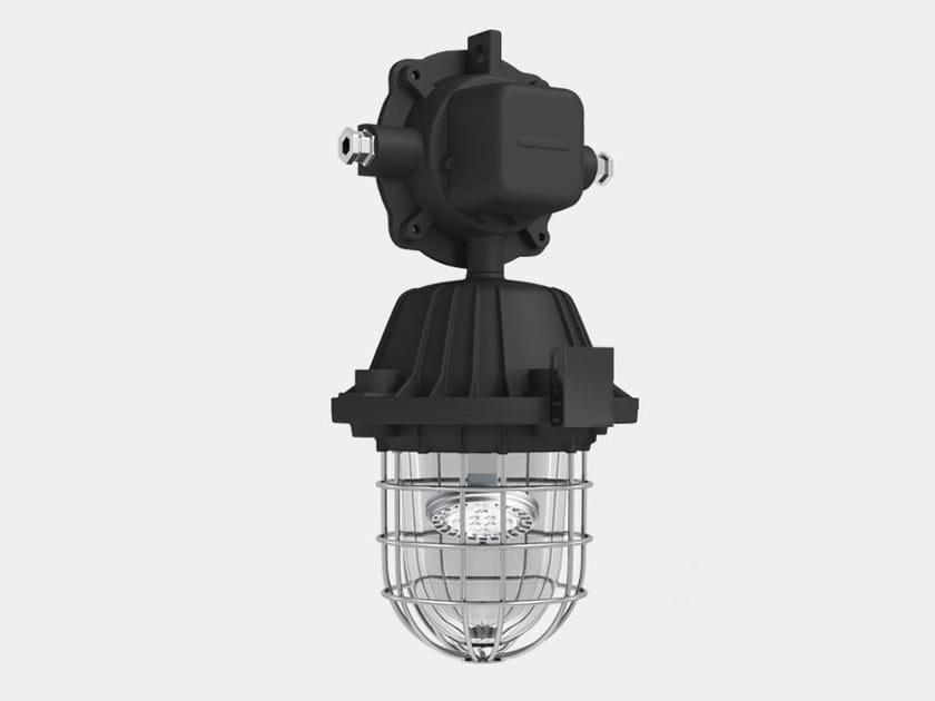 LED die cast aluminium pendant lamp SATURN by ES-SYSTEM