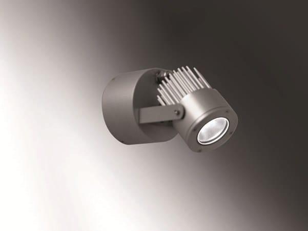 Proiettore per esterno lampada ad immersione in alluminio saturn