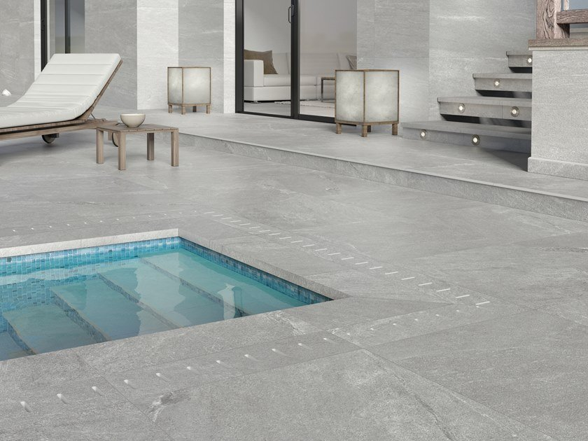 Indoor/outdoor porcelain stoneware wall/floor tiles SATYA by PERONDA