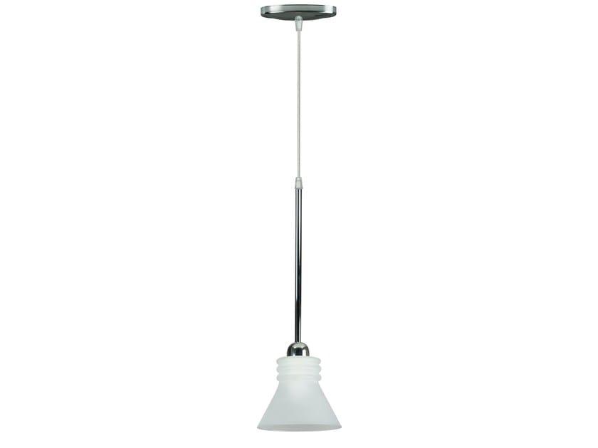 Opal glass pendant lamp SAUREO | Pendant lamp by Brossier Saderne