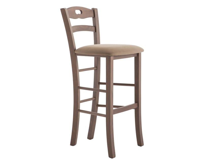 High beech stool SAVOY 42BA.2 by Palma