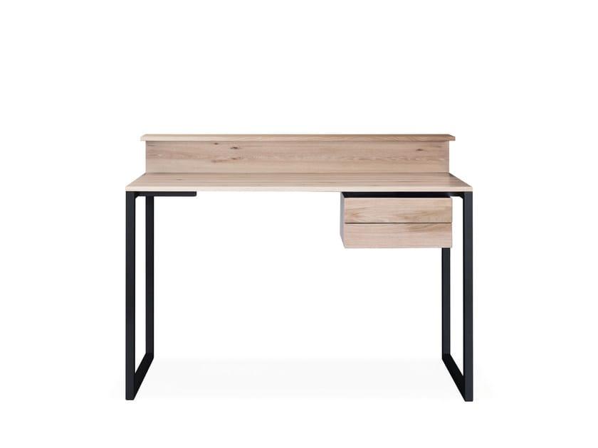 sc06 schreibtisch aus holz by janua. Black Bedroom Furniture Sets. Home Design Ideas