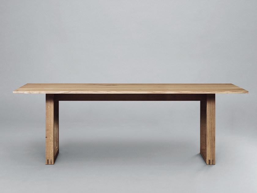 Rectangular wooden dining table SC25 | Wooden table by Janua