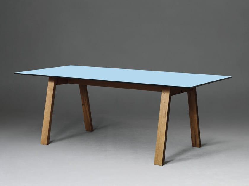 Rectangular HPL table SC50 | HPL table by Janua