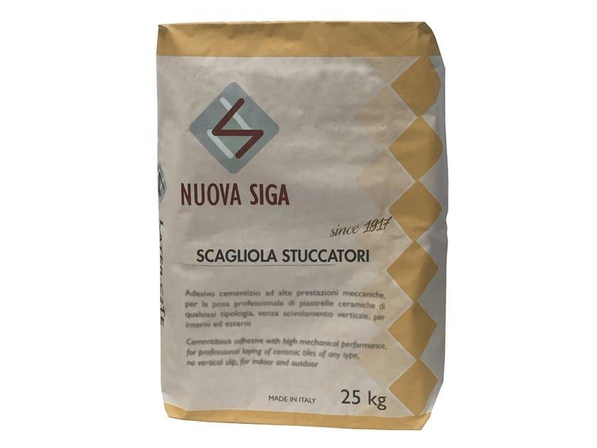 Scagliola gypsum, setting gypsum SCAGLIOLA STUCCATORI by Nuova Siga
