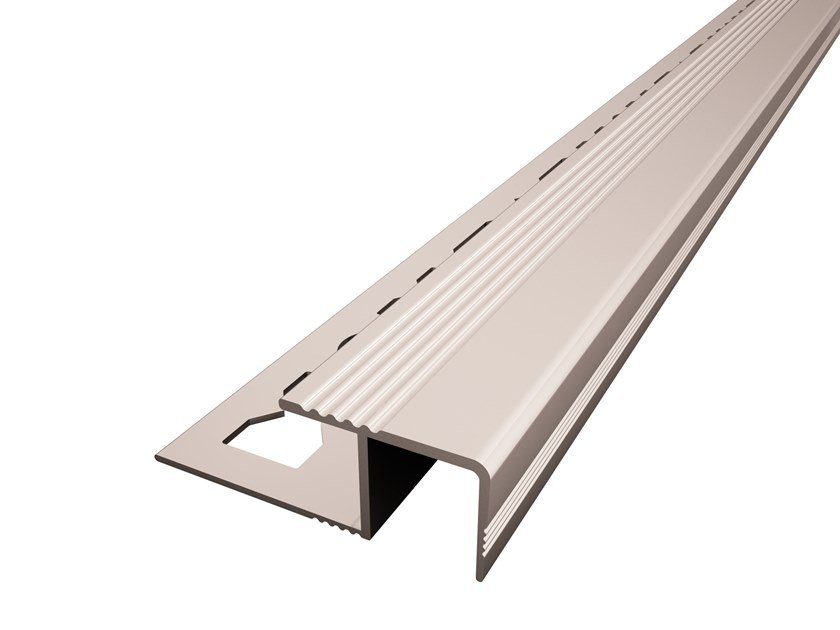 Aluminium Stair Tread for tiles SCALA-T by Mox Profile Systems