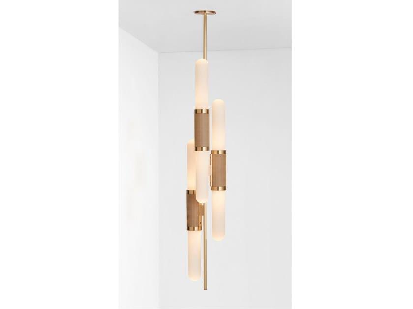 Lampada a sospensione a LED con dimmer SCANDAL STAGGERED | Lampada a sospensione by Articolo Lighting