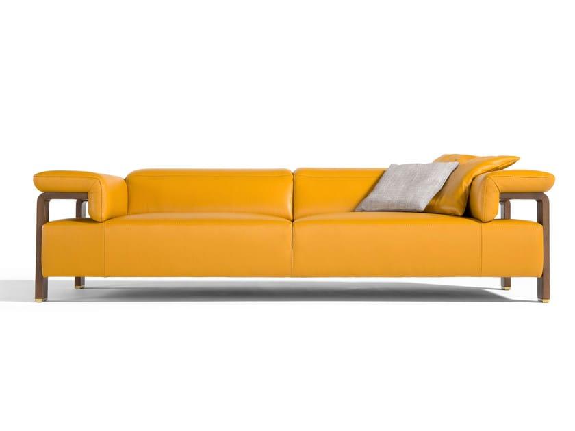 Leather sofa SCARLETT | Sofa by Egoitaliano