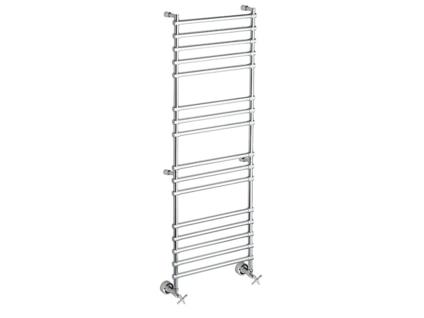 Chrome vertical wall-mounted towel warmer SCCL02A | Towel warmer by Fir Italia