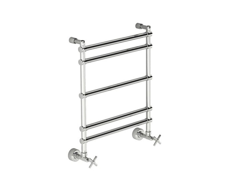 Chrome vertical wall-mounted towel warmer SCCL02B | Towel warmer by Fir Italia