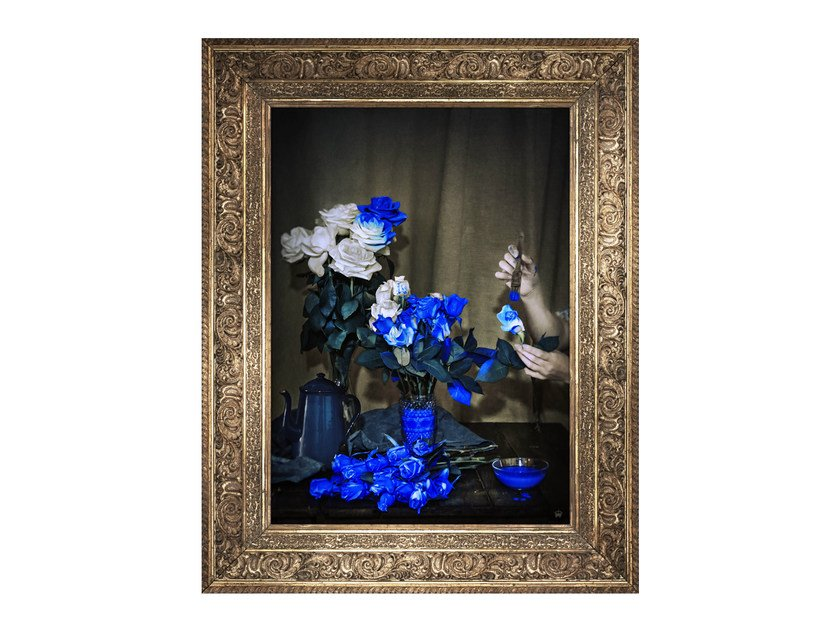 Canvas print SCENT OF COBALT by Mineheart