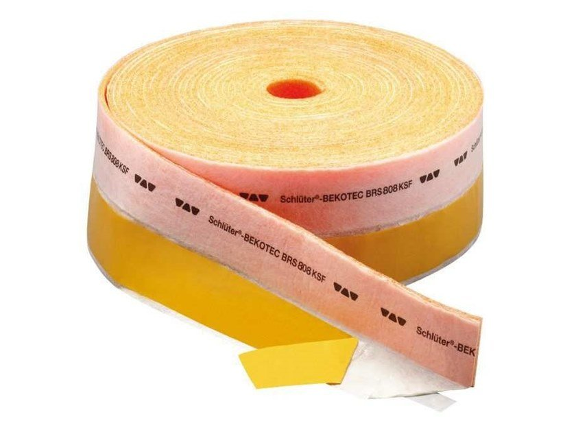 Seal and joint for insulation product Schlüter®-BEKOTEC-BRS/KSF by Schlüter-Systems