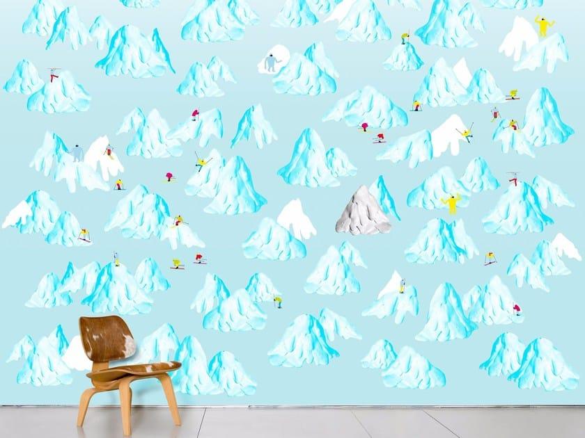 Wallpaper SCHUSS by Moustache